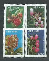 Vietnam Rep. Socialista - Correo 2001 Yvert 1954/8 ** Mnh  Flores - Vietnam