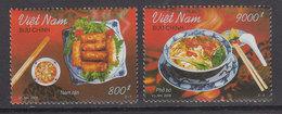 Vietnam Rep. Socialista - Correo 2008 Yvert 2292/3 ** Mnh  Gastronom�a - Vietnam