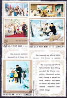 Korea (Nord North) - Internationales Jahr Des Kindes (MiNr: 1835/9 Zf) 1979 - Gest Used Obl - Korea, North