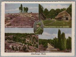 Lüneburger Heide - Mehrbildkarte 73 - Lüneburger Heide