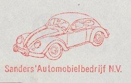 Meter Cover Netherlands 1964 Car - Volkswagen Beetle - VW - Cars