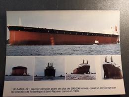 BATEAU  PETROLIER LE BATILLUS - Tanker