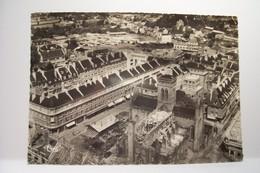VIRE  - Vue Aérienne  - L'Eglise Et Le Centre  ( Toiture Détruite ) - GUERRE 39-1945 - - Vire
