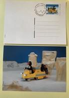 9878 - 2 Entiers Postaux Pingu1999 Neuf Et FDC - Interi Postali