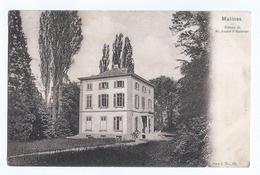 Malines Château Kasteel M. Deudon CPA Oblitérée Hombeeck 1907 - Malines