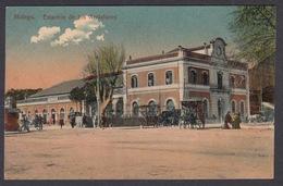 CPA - Espana / Spain - MALAGA, Estacion De Los Andaluces - Málaga