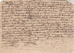 Cachet Généralité MONTPELLIER Manuscrit 26/8/1780 Florensac Hérault - Cachets Généralité