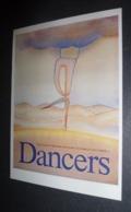 Carte Postale - Illustration Folon - Affiche Pour Les Dancers (Theatre New York) - Folon
