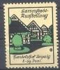 Werbemarke Cinderella Poster Stamp Gartenstadt Ausstellung Leipzig #47 - Vignetten (Erinnophilie)