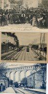 LOT N°9   15 CPA DIVERSES DE FRANCE - Cartes Postales