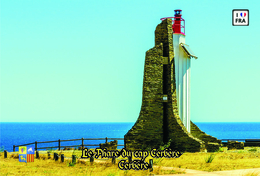 Set 6 Cartes Postales, Phares, Lighthouses Of Europe, France, Cerbère, Le Phare Du Cap Cerbère - Leuchttürme