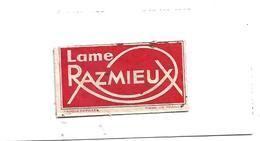 916 -LAMES DE RASOIR RAZMIEUX ACIER SUPERFIN - Lames De Rasoir