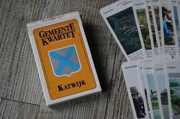 KATWIJK - Oud Gemeente Kwartet Met Foto's Van De Gemeente - Kwartetspel - Cartes à Jouer Classiques