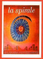 Carte Postale - Illustration : Folon (cinéma Affiche Film) La Spirale - Folon