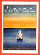 Carte Postale Illustration : Folon (cinéma Affiche Film) Un Type Comme Moi Ne Devrait Jamais Mourir. - Folon
