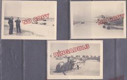 Au Plus Rapide Algérie Période Guerre Aérodrome à Situer Junker Hélicoptère Avion Immatriculé BOB Beau Format - Aviation