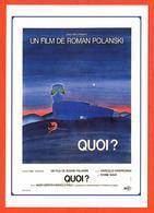 Carte Postale Illustration : Folon (cinéma Affiche Film) Quoi ? - Folon