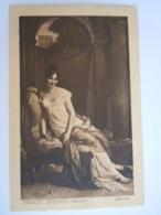 Madame Recamier (Gérard) - Louvre - Reclame Publicité Farine Lactée Stauffer - Enghien Belgique - Paintings
