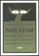 Carte Postale Illustration : Folon (cinéma Affiche Film) Paris Vu Par (chat) - Folon