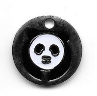 Jeton De Caddie  Animal  Panda  Verso  ZOO PARC  BEAUVAL  ( 80 ) - Jetons De Caddies