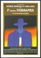 Carte Postale - Illustration : Folon (cinéma Affiche Film) F Comme Fairbanks - Folon