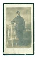 WO1 / WW1 - Doodsprentje Nauwelaers Alphonsus Ludovicus - Broechem / Roeselare - Gesneuvelde - Décès