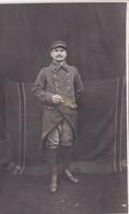 Soldat Du 11ème Régiment De ? - Prisonnier Au Camp De Neühammer (Silésie) WWI - Carte Photo - Identifié - Navilly (71) - Régiments