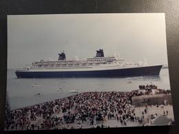 BATEAU  PAQUEBOT NORWAY - Steamers