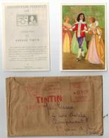 TINTIN  Le Chéque Tintin, Les Beaux Contes De Perrault, 1957. - Other