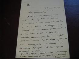LETTRE AUTOGRAPHE SIGNEE DE PIERRE BAUDIN 1904 DEPUTE RADICAL-SOCIALISTE SEINE AIN MINISTRE MARINE TRAVAUX-PUBLICS - Autógrafos