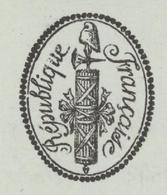 Héraldique Paris An 7 - 14.1.1799  Inspection Générale Du Service De Santé Des Armées Sujet: élève En Chirurgie - Documents Historiques