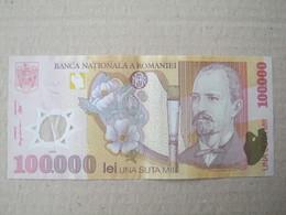 Romania / 100.000 Lei 2001 ( Polymer ) - Romania