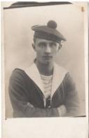 BATAILLON DE COTE... Marine Nationale Marin Militaire Carte Photo - Guerre 1914-18