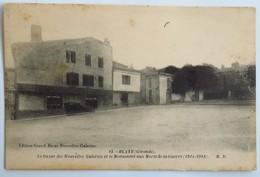 C. P. A. : 33 BLAYE : Le Bazar Des Nouvelles Galeries Et Monument Aux Morts, Voiture - Blaye