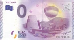 """FRANCE / Billet Touristique / Souvenir 0 €uro - 2015 """" VULCANIA """". - Essais Privés / Non-officiels"""