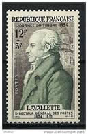 """FR YT 969 """" Comte De Lavalette """" 1954 Neuf** - Unused Stamps"""