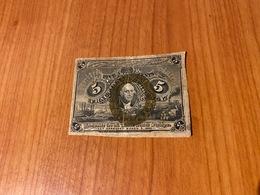 5 Cents 1863  (port Offert ) - Devise Fractionnelle (1862-1875)