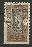 DAHOMEY N° 52 CACHET DJOUGOU - Dahomey (1899-1944)