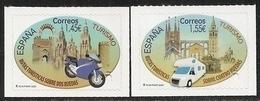 2020-ED. 5373 Y 5374 - Turismo. Rutas Turísticas Sobre Dos Y Cuatro Ruedas -NUEVO - 1931-Hoy: 2ª República - ... Juan Carlos I
