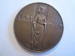 Piece Jeton Rouen Nobilis Irbs Antiqua Ville De Rouen Bronze - Touristiques