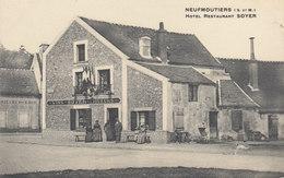 Neufmoutiers : Hotel Restaurant Soyer     ////   JANV. 20 / BO. 77 - Autres Communes
