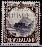 New Zealand 1936, 4d, Scott# 209, Used - Gebraucht