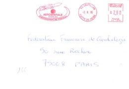 France-EMA-l92 Chatillon-2/8/1995-Aerospatiales-Missiles-Etablissement De Chatillon - Covers & Documents