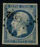 FRANCE - YT 10 - PRESIDENCE - LOUIS NAPOLEON - TIMBRE OBLITERE - 1852 Luigi-Napoleone