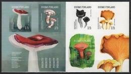 Finland (2016) - Booklet -  /  Setas - Pilze - Mushrooms - Champignons - Fungi - Cogumelos - Funghi - Hongos