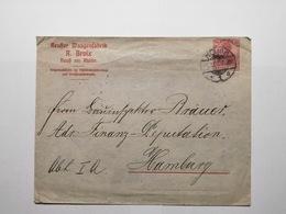 Deutsche Briefumschlag Hamburg - Lettres & Documents
