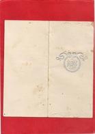 MENU Du 30 AOUT 1910  - HOTEL LAURENCIN , St-AMOUR - Menus