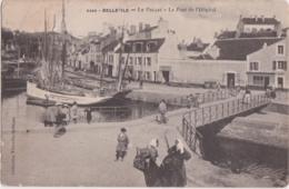 Cpa BELLE ILE - Le Palais - Le Pont De L'Hôpital - Belle Ile En Mer