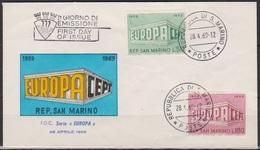 San Marino 1969 FDC Mi-Nr.925 - 926 Europa ( D 6348 )günstige Versandkosten - FDC
