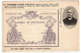 CONLIE (72) - CAMP DE CONLIE - GUERRE DE 1870 - ARMÉE DE BRETAGNE - Conlie